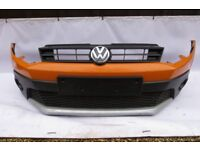 VW POLO DUNE CROSS COMPLETE FRONT BUMPER 2010-2014