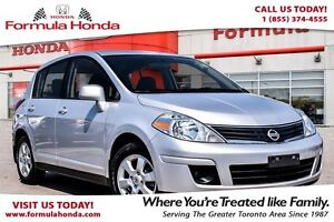 2011 Nissan Versa SL- Economical hatch Back that's easy to drive