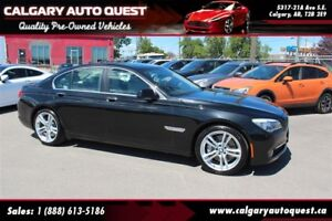 2012 BMW 750i xDrive EXECUTIVE PKG AWD/LOW KMS/H.U.D/Soft-Close