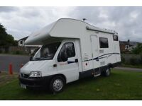 CI Carioca 656 2005 6 Berth Motorhome For Sale - Rear Bunk Beds - Only 30.216 miles - £18,999 ovno