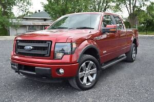 2013 Ford F-150 FX4 LUXURY CREW ECO MAGS 20'' TOIT CUIR