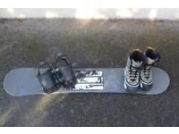 Snowboard package - £165