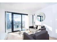 Modern 1 Bed Apartment in Horizons Tower, E14, Canary Wharf, Concierge, 13th Floor, Balcony- VZ