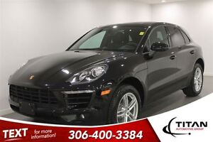 2017 Porsche Macan RARE|1258KMS| Turbo| AWD|Leather|Black