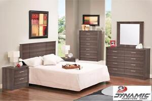 Grey 3-Piece Queen Bedroom!