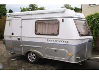 Excellent UK 2004 Eriba Puck L 225 GT Caravan Extras TAB 320 Teardrop Motorhome VW