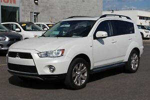 2012 Mitsubishi Outlander XLS S-AWC+CUIR+TOIT+MAGS 18''
