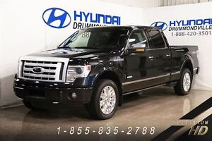 2014 Ford F-150 PLATINUM V6 3.5l ECOBOOST + 4X4 + NAVI + MAGS 20