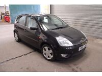 05 Ford Fiesta 1.4l Zetec Climate (Black) - New Cambelt + Clutch - 10 month MOT