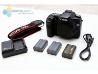 Canon EOS 50D 15.1 MP Digital SLR Camera Body- Exc+ Condition extra battery