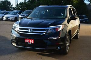 2016 Honda Pilot Touring/ACCIDENT FREE! FULLY LOADED!