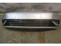 GOLF 7 NEW MODEL FRONT BUMPER IN SILVER GENUINE PART 2017-ON 5G0 807 221 F