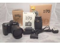 Nikon D70 + 24-85 & 70-300 Nikon Lenses