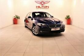 BMW 5 SERIES 2.0 520D SE 4d AUTO 181 BHP + SAT NAV + HEATED LEA (blue) 2013