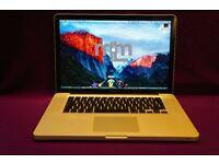 "CORE i5 13"" Apple MacBook Pro 2.3Ghz 4GB 320GB TRAKTOR DJ SERATO ABLETON CUBASE LOGIC PRO X SIBELIUS"