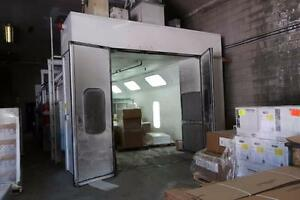 Paint Booth with Fire Suppression