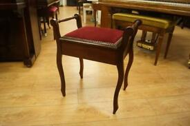 Antique piano stool. Can be delivered or shipped