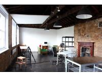 Large period conversion to let in the heart of Hackney/ period features/ workspace/ livework