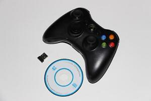 PC-WIRELESS CONTROLLER+ADAPTER-XBOX 360 MODEL (NEUF/NEW) [VOIR/SEE DESCRIPTION] (C003)