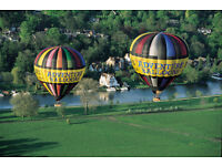 Hot Air Balloon Crew - fancy something different this summer?
