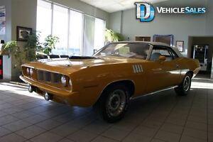 1970 Plymouth Barracuda Soft Top
