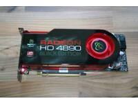 Xfx amd radeon 4890 black edition graphics card