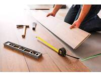 Laminate Floor Professional Fitting Service at Low cost.
