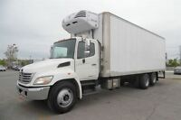 2010 Hino 358 Diesel operated refrigeration,Air ride,Aluminum fl