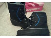 Camprio snow/winter boots size 6