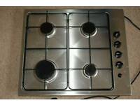 Built in Electrolux gas hob and electric oven