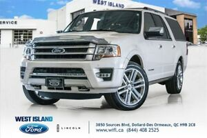 2017 Ford Expedition Max Platinum cuir toit 8 passager