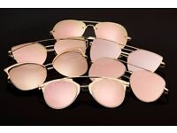 LARGEST SUPPILER OF DESGNER ROSE GOLD SUNGLASSESS IN UK