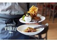 Open Day for Kitchen Porters - Bistrot Pierre New Restaurant Opening