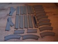 26 TRACKMASTER THOMAS AND FRIENDS TRACK PIECES