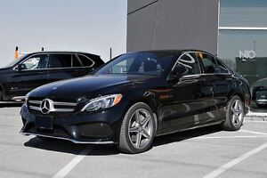 2017 Mercedes-Benz C-Class C300 4MATIC, Premium Plus, Sports PKG