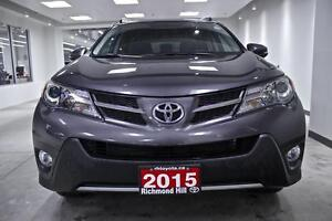 2015 Toyota RAV4 XLE, AWD, ALLOYS, ROOF, ONE OWNER, NO ACCIDENTS