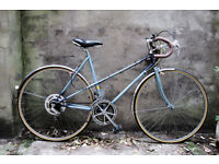 RALEIGH WISP, vintage ladies women's racer racing road bike, 21 inch, 10 speed
