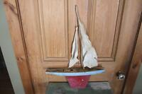 Vintage Pond Boat - Great for Cottage Decor