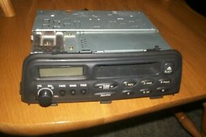 saturn dolby cassette am fm car stereo model 21022997 delco 89bpzf with ebay