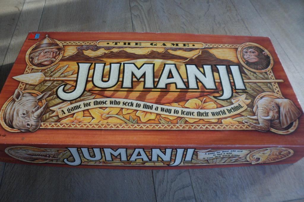 Jumanji Board Game Car... Jumanji Board Game