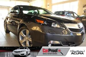 2013 Acura TL Tech package including navigation, leather, sunroo
