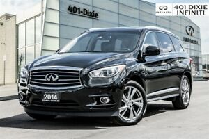 2014 Infiniti QX60 Hybrid!! Tech Package! Navi! 1 Owner!
