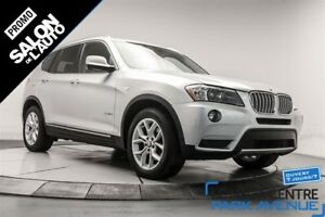 2013 BMW X3 xDrive28i, AWD, CUIR, TOIT PANORAMIQUE