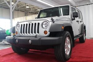 2012 Jeep WRANGLER UNLIMITED Sport * A/C, TRAIL RATED 4x4