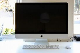 "Apple iMac A1312 27"" i5 12GB RAM 2TB HDD + Magic Mouse + Keyboard"