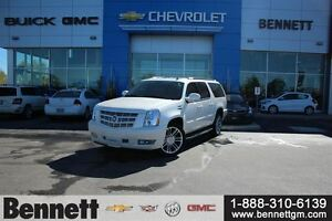 2014 Cadillac Escalade ESV 6.2V8 AWD with Nav, heated second row