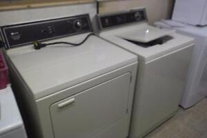 WORKING WHIRLPOOL WASHER AND KENMORE DRYER
