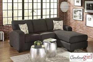 Ashford Charcoal 2-Piece Sectional