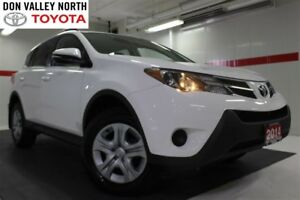 2014 Toyota RAV4 LE AWD UPGRADE PKG Btooth BU Cam Heated Seats