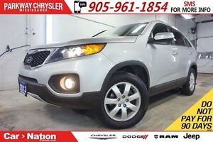 2013 Kia Sorento LX| HEATED SEATS| BLUETOOTH| REAR SONAR & MORE|